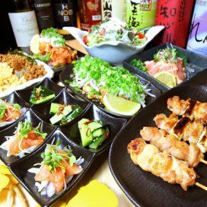 梅田の居酒屋「煙」で貸切宴会